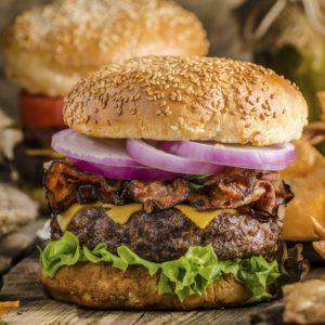 Image of American rustic burger