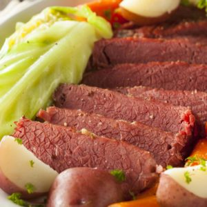 Image of Homemade Corned Beef and Cabbage