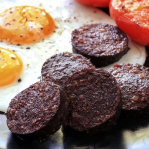 Black & White Pudding