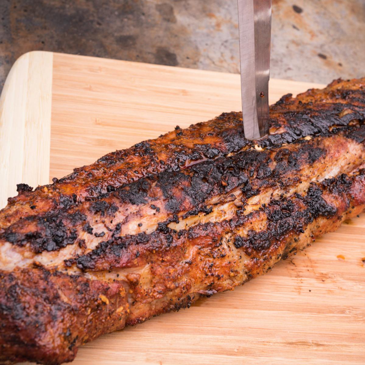 Fresh Pennsylvania Dutch Pork Babyback Ribs
