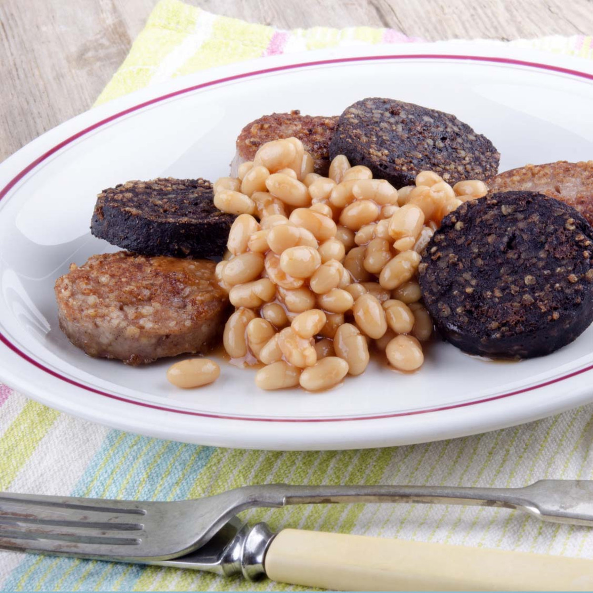 Irish Black and White Pudding Tubes, Mixed Box 10lbs