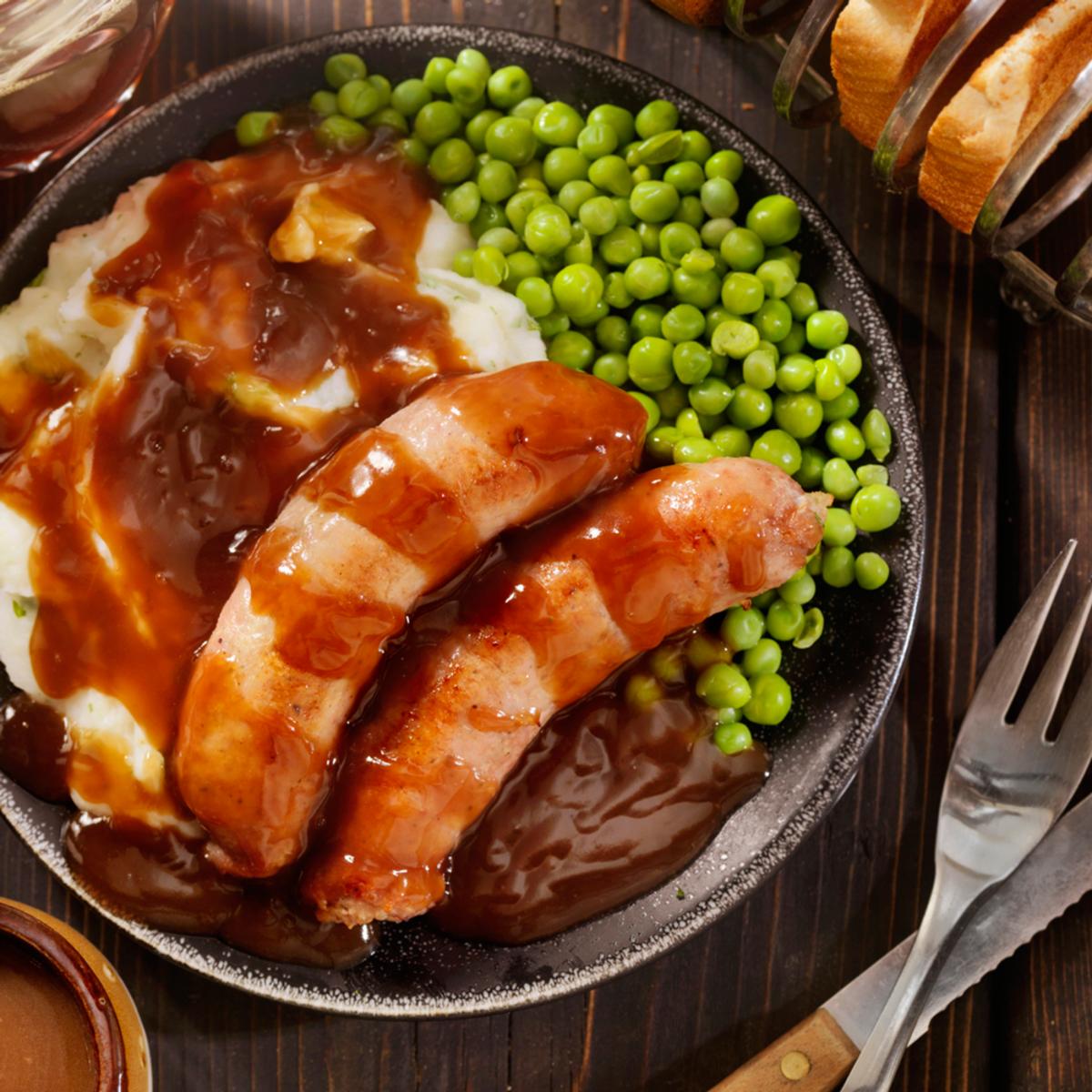 Irish Stout and Onion Pork Sausage – Case