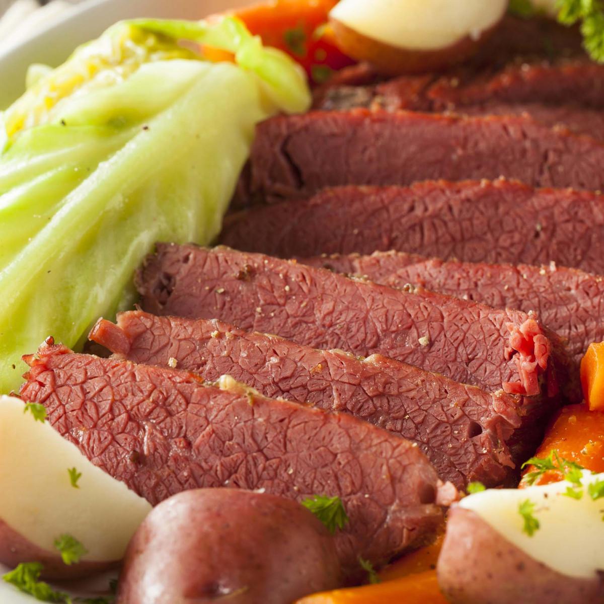 Corned Beef – Premium Flat Cut Food Service