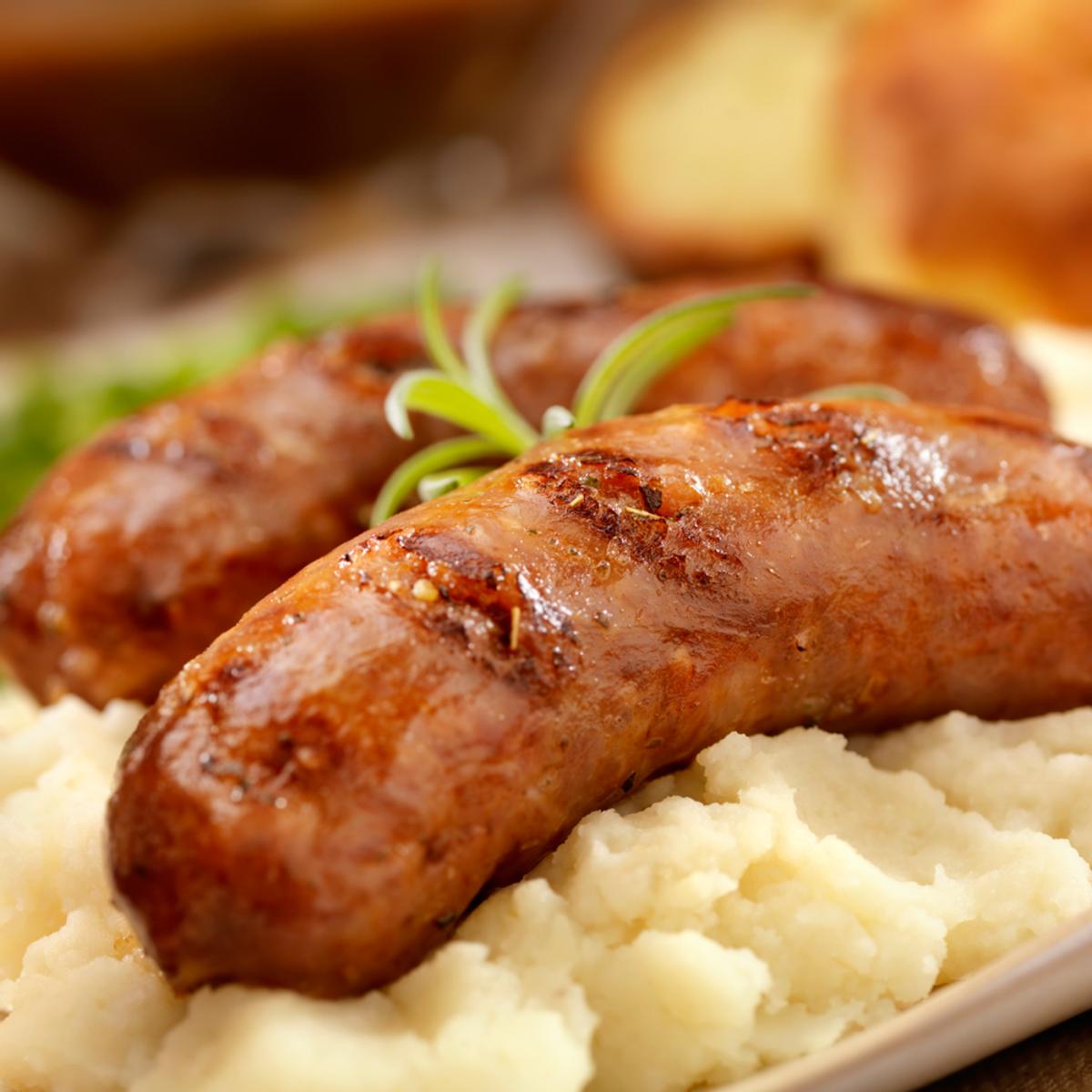 Jumbo (Bangers) Sausage – Case