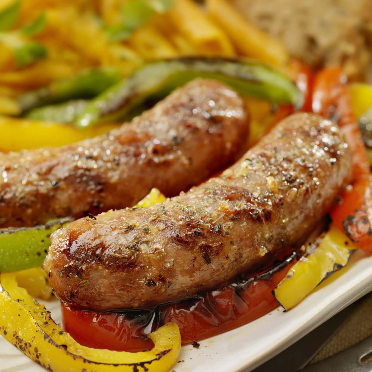 Premium Hot Italian Sausage – Case